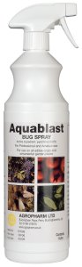 Aquablast Bug Spray - This is a safe, natural and effective spray for all common pests.