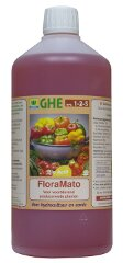 FloraMato - For soil and hydroponics - to enhance flavours, increase yields and improve nutritional value.