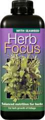 Herb Focus - Balanced nutrition for culinary and medicinal herbs.
