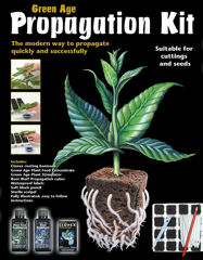 Root Riot Propagation Kit - Everything needed for successful propagation in a box.  Contains Clonex -50ml, Formulex -100ml, Root Riot -24 cubes plus a scalpel and full detailed instructions.