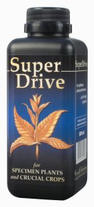 Super Drive - A concentrated solution of vitamins and growth enhancers for superior plant performance.